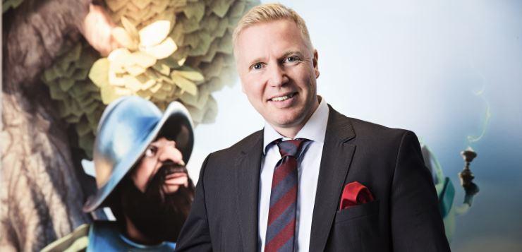 Bjorn Krantz of NetEnt