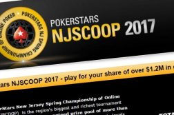 2017 PokerStars NJSCOOP