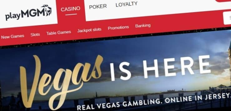 MGM NJ Online Gambling Sites Launch