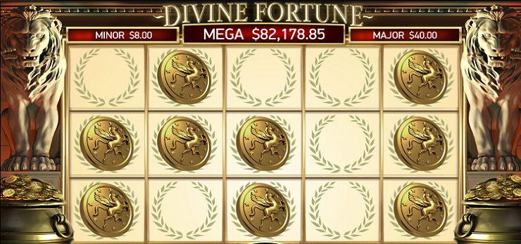 Divine Fortune Jackpot Golden Nugget Casino