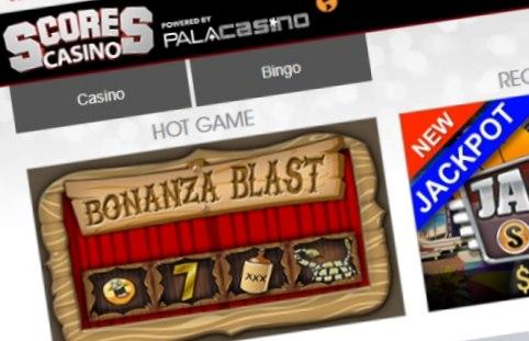 Scores casino lobby