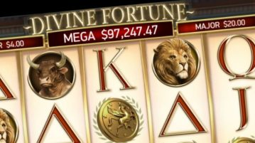 Divine Fortune jackpot frequent hits