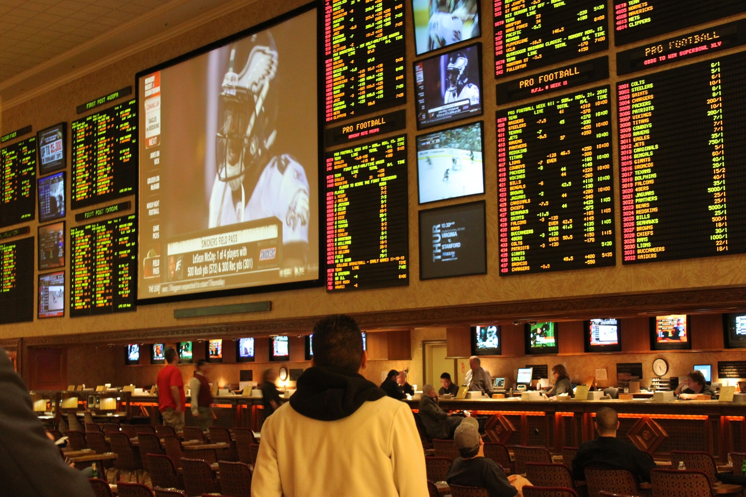 NJ sportsbooks and online sports betting sites
