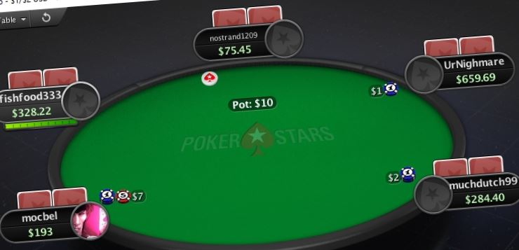 pokerstars table nj