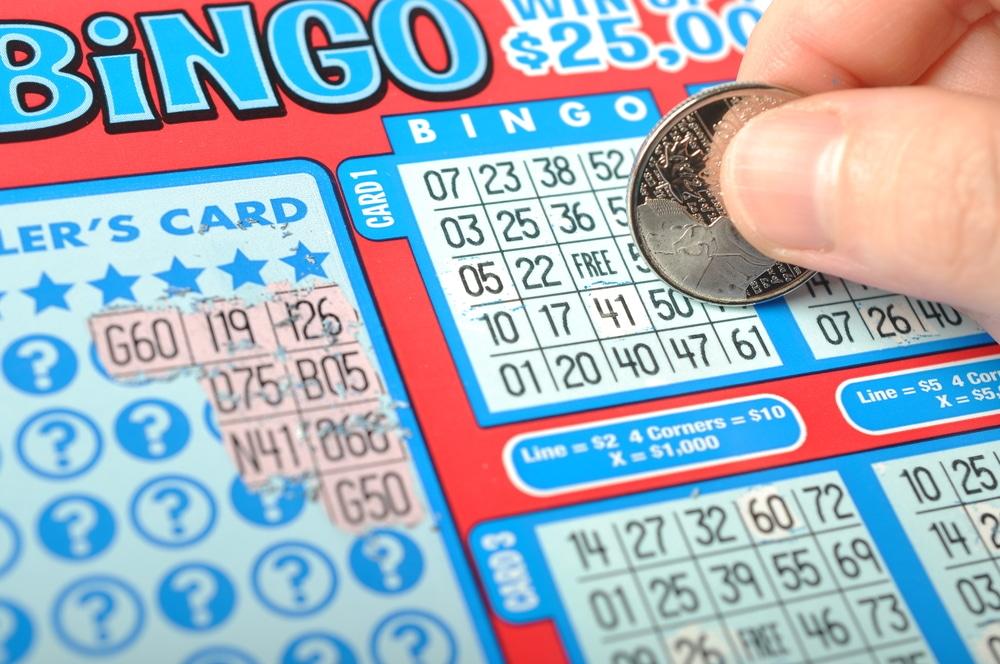 Scratcher Lottery Ticket