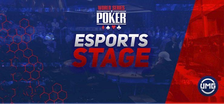 WSOP UMG eSports Stage