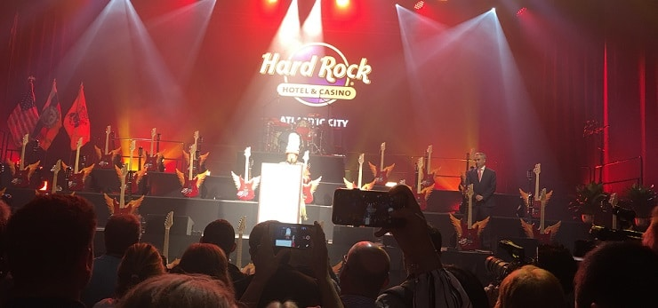 Hard Rock Casino AC Opening