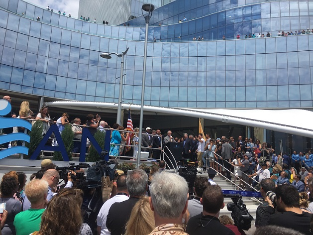 Ocean Casino AC Ceremony