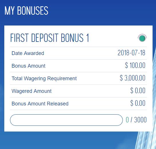 Bonus Structure Ocean Online