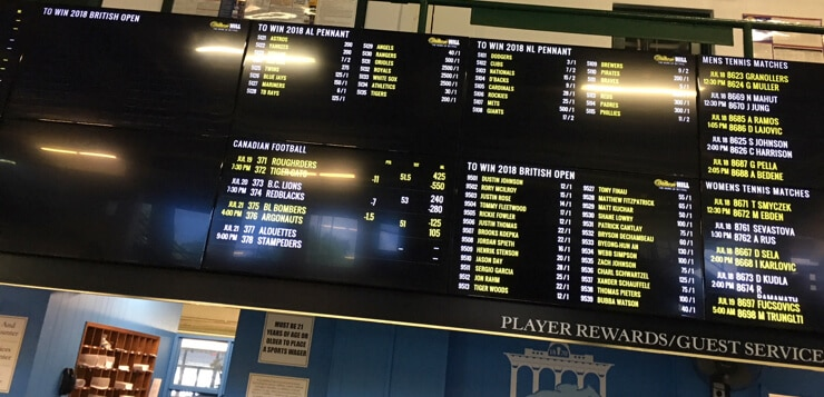 what time is sports betting meadowlands