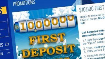 Ocean 10k Deposit Bonus