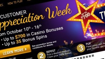 Pala Casino NJ Customer Appreciation Week