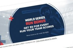World Series Run Bonus FanDuel
