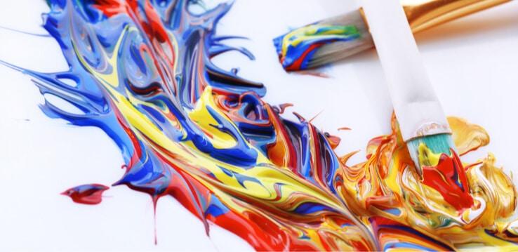 mixed paints
