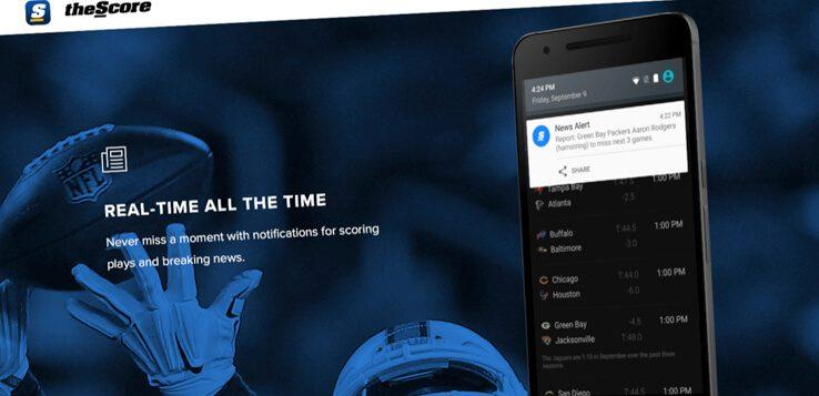 thescore sports betting app website