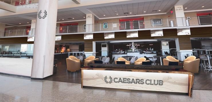 caesars club rendering