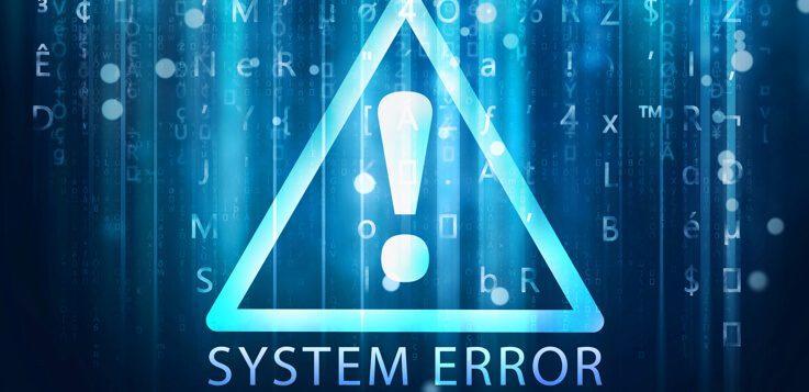 system error logo