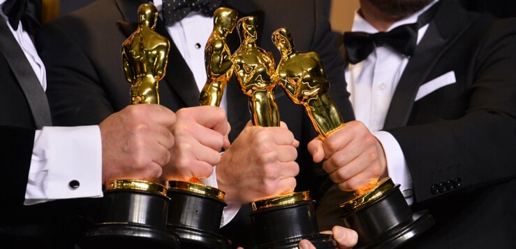 academy awards trophies