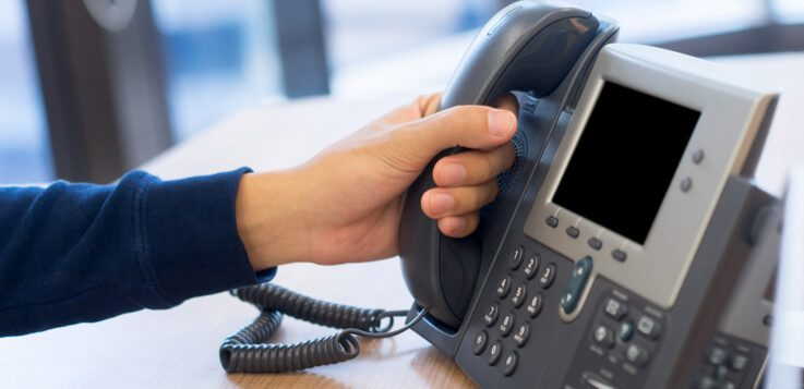 call center telephone