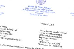 new jersey foia request