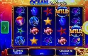ocean magic 220k score