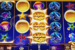 ocean magic slot machine screen