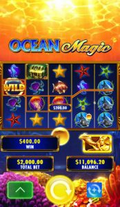 ocean magic top left wild bubble screen cap
