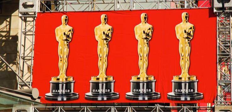 oscars banner in hollywood