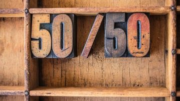 50 50 Sign