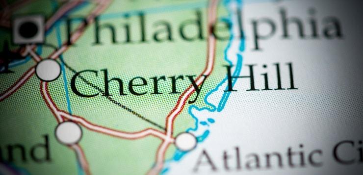 Cherry Hill map