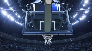 basketball backboard net