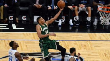 giannis antetokounmpo milwaukee bucks action