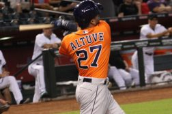 jose altuve houston astros major league baseball