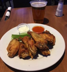 victory sports bar chicken wings