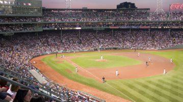 baseball fenway park boston