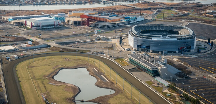 meadowlands sports complex aerial view