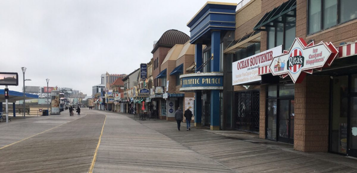 March Sadness In Atlantic City: A Walk On The Boardwalk After Shutdown