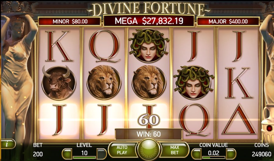 divine fortune unibet