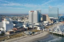 atlantic city boardwalk aerial