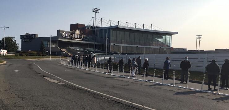 yonkers raceway empire city racino reopening line