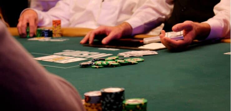 wsop poker table