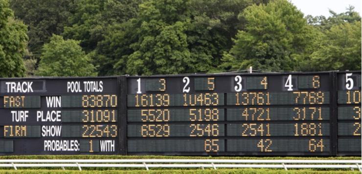horse betting board