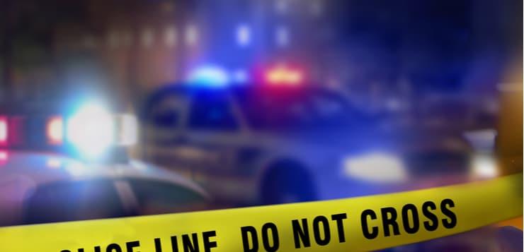 police tape crime scene