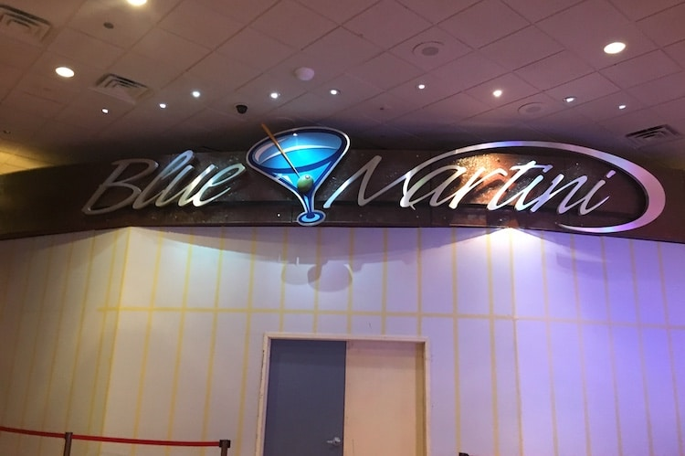 blue martini ballys