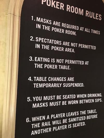 poker rules borgata