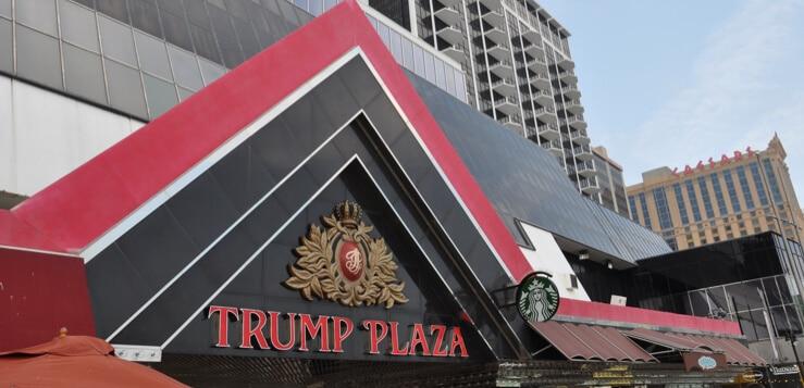 trump plaza atlantic city sign