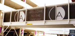american dream meadowlands parking entrance