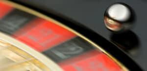 roulette wheel blurry