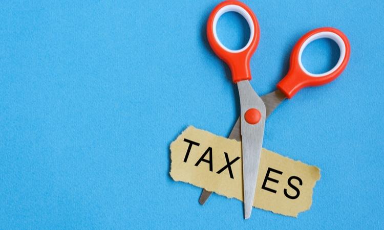 tax reduction scissors