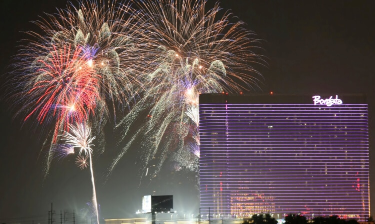 borgata fireworks